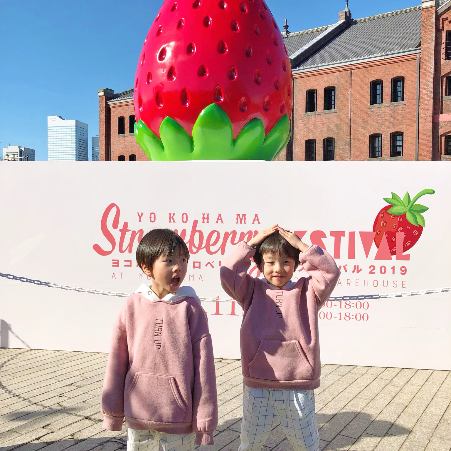 Yokohama strawberry festival