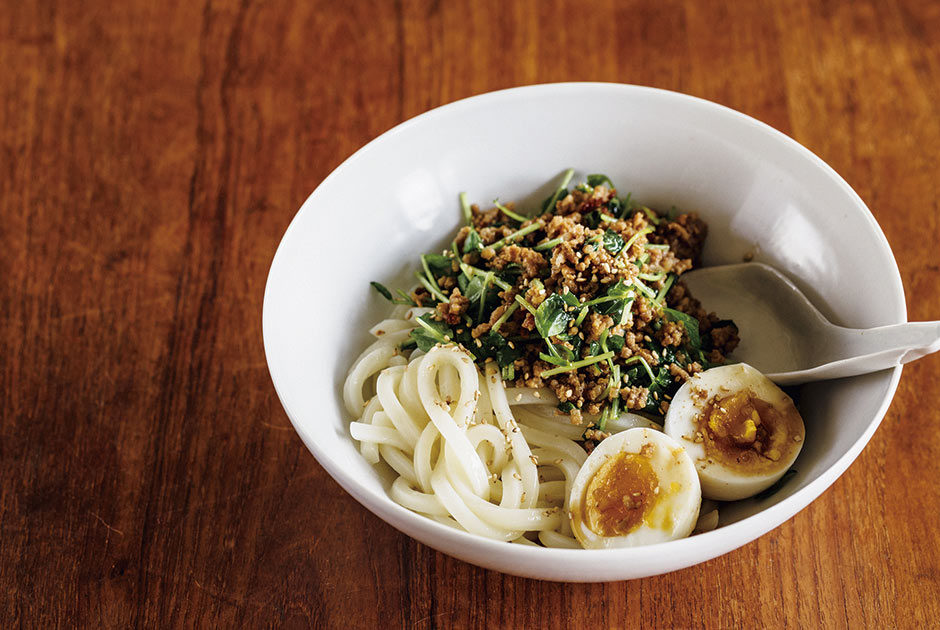 [First step]Cooking time is 15 minutes! Two short-time udon noodles taught by Maki Watanabe