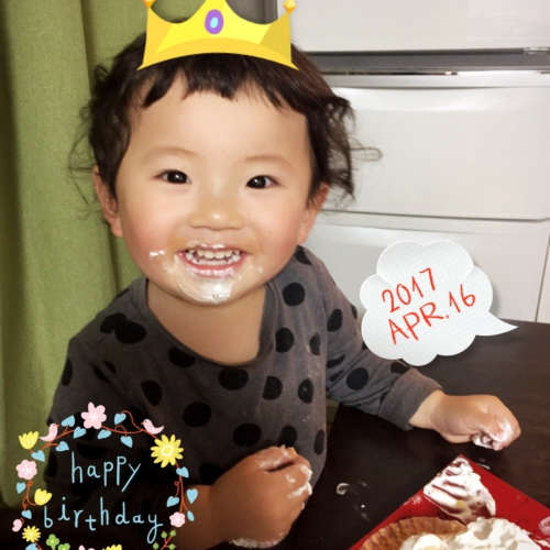 Happy Birthday✩2歳✩